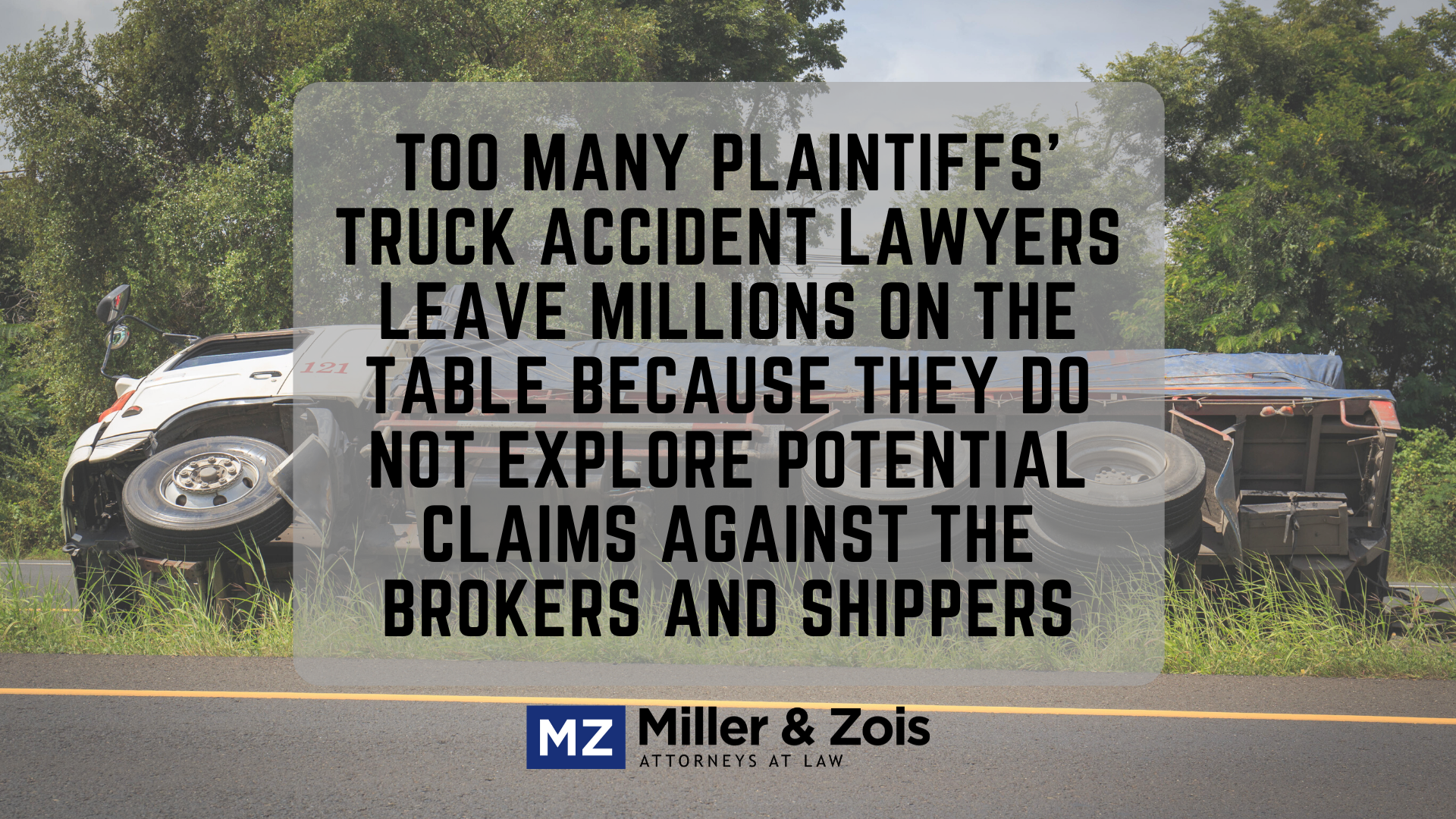 truck brokers shippers liability claims