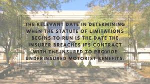 uninsured motorist statute limitations