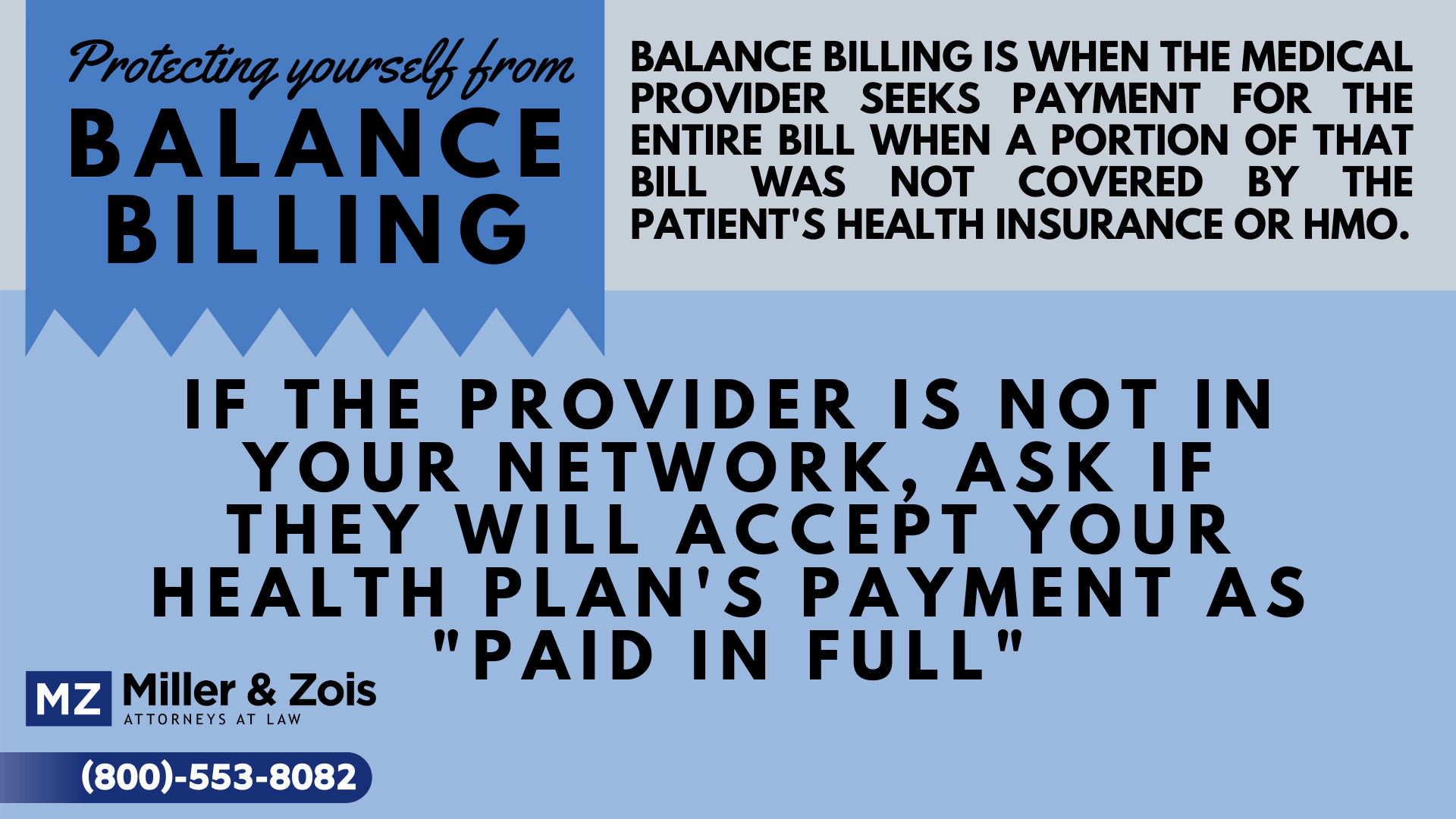 Sample Letter To Patient Regarding Balance from www.millerandzois.com