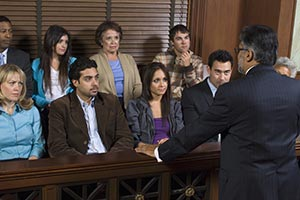 Attorney Talking to a Jury