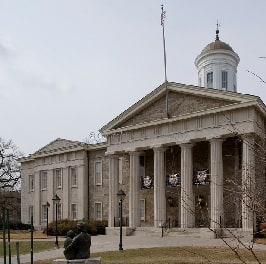 Baltimore county courthouse