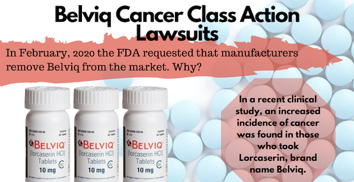 Belviq Cancer Class Action Lawsuit