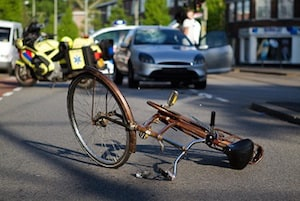 bike car accident