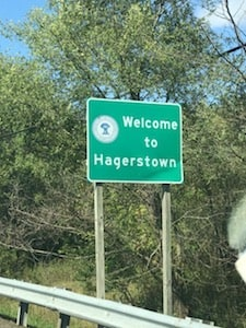 Hagerstown Sign