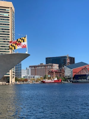 Baltimore City Inner Harbor